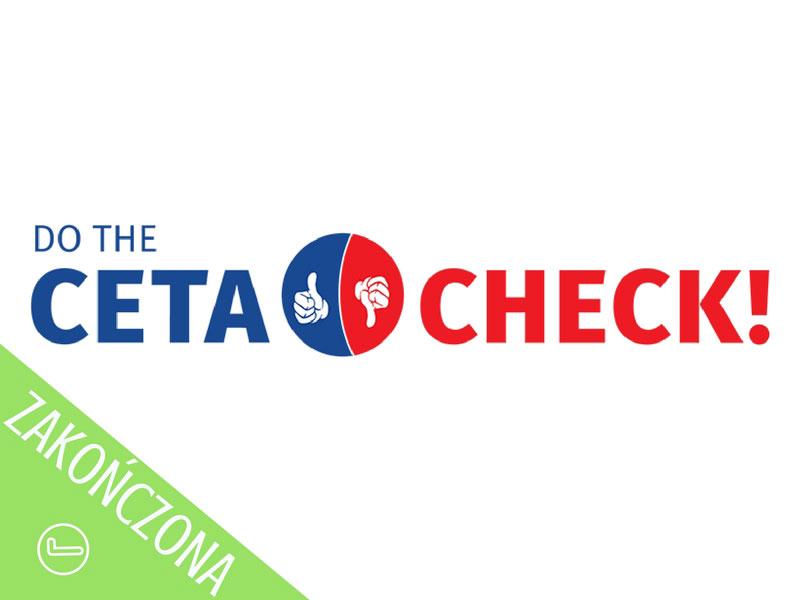 CETA Check - kampania