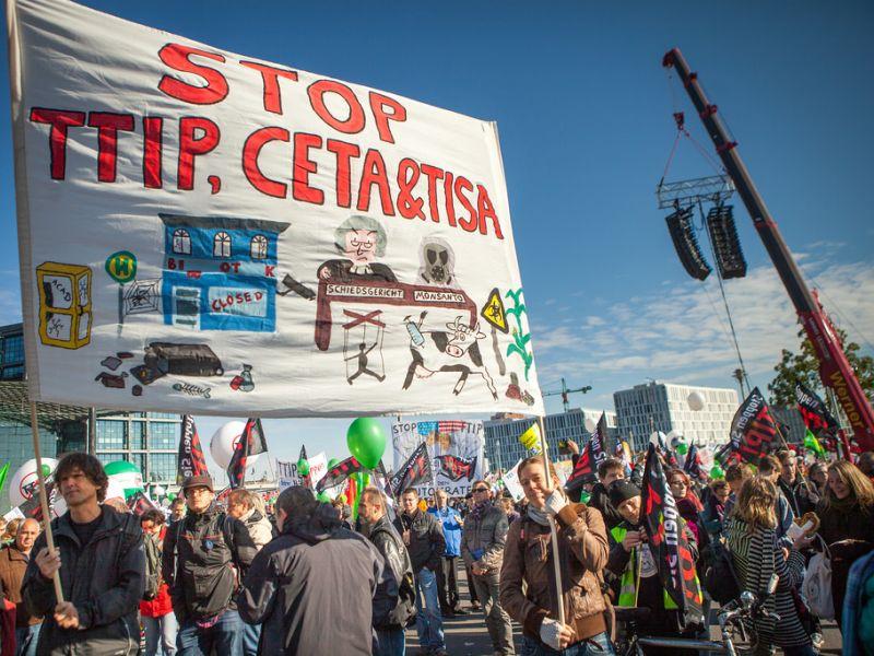 STOP TTIP, CETA (from flick.com)