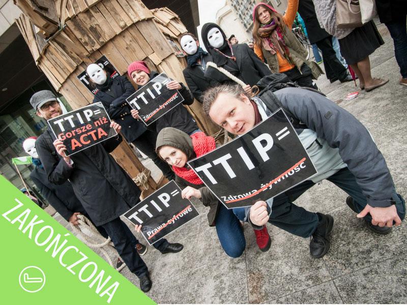 Stop ttip ceta zakończona petacja