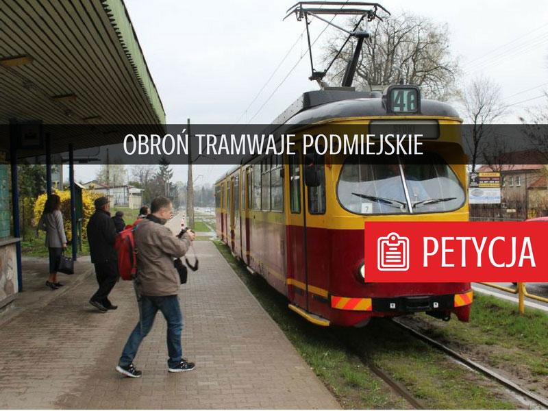 Tramwaje podmiejskie (Łódź)