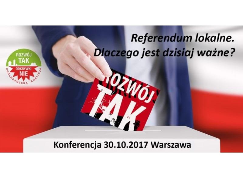 konferencja referendum lokalne