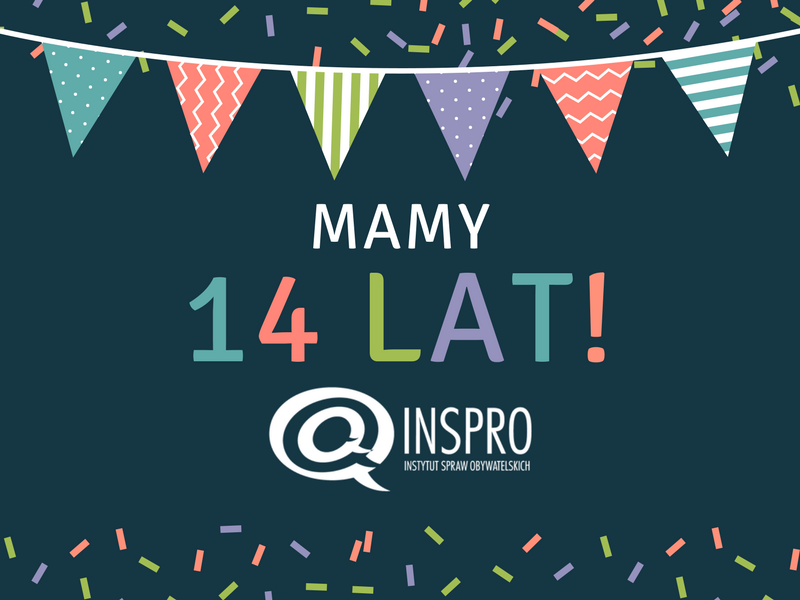 14 lat INSPRO