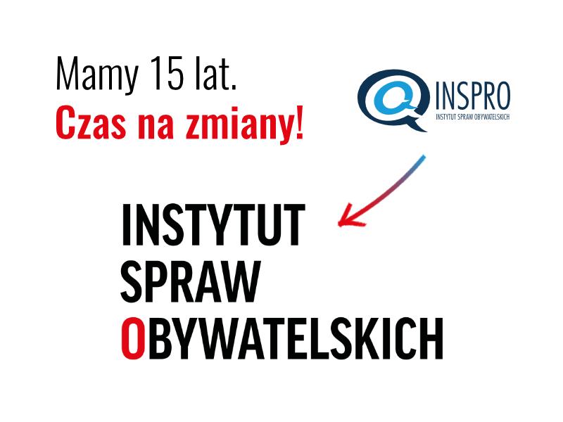 Instytut Spraw Obywatelskich zmienia logo
