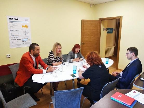 spotkanie Instytutu z organizacją Delna w Rydze