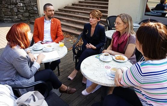 spotkanie Instytutu z łotweskimi parlamentarzystkami