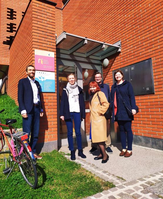 Lublana - spotkanie z przedstawicielem organizacji INEPA