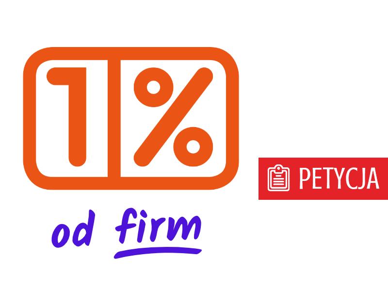 1% podatku od firm dla organizacji społecznych