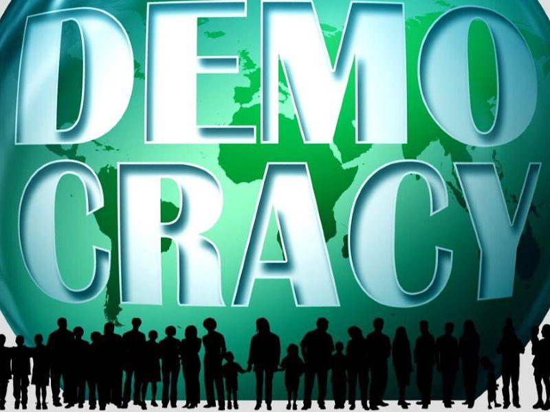 Democracy - Gerd Altmann z Pixabay