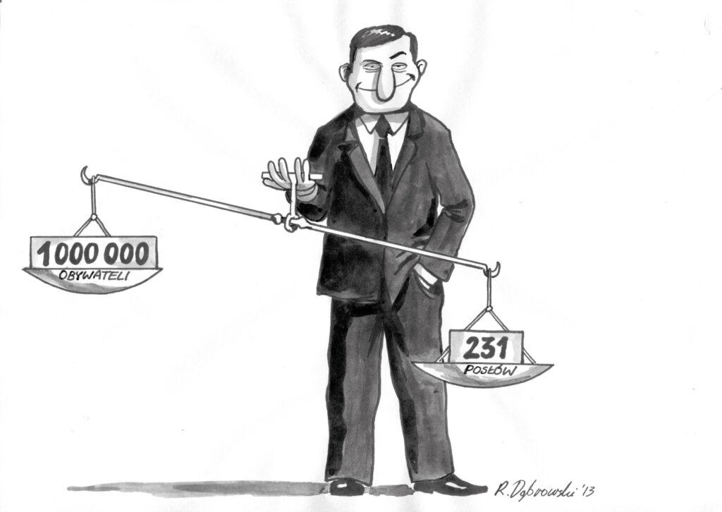 Obywatele vs politycy